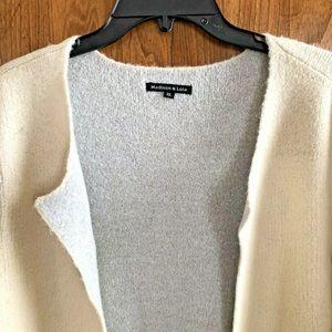 Madison & Lola Sweaters - NEW Madison & Lola Size XL Cream Sweater Jacket